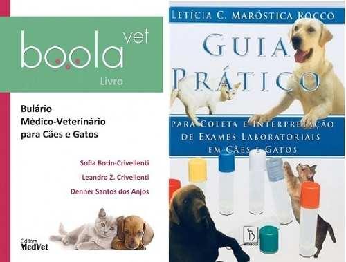 Combo Boolavet E Guia Prático Para Coleta E Interpretação de Resultados de Exames laboratoriais Em Cães e Gatos  - LIVRARIA ODONTOMEDI