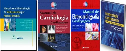 Combo De Cardiologia  - LIVRARIA ODONTOMEDI