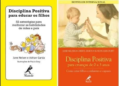 Combo Disciplina Positiva Para Educar Os Filhos De 0 A 3 Anos  - LIVRARIA ODONTOMEDI