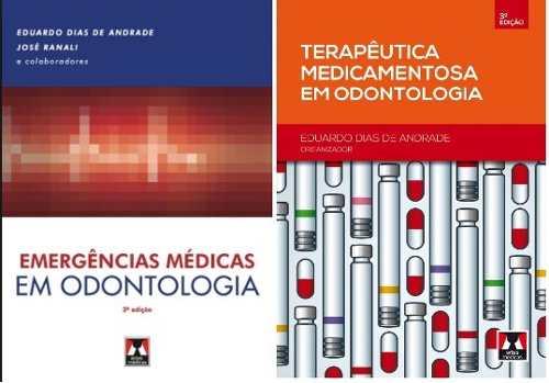 Combo Emergências Médicas E Terapêutica Medicamentosa Em Odontologia  - LIVRARIA ODONTOMEDI