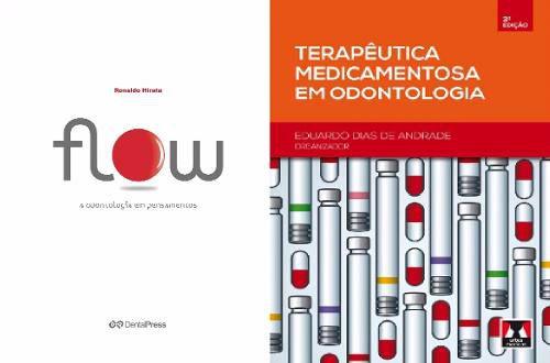 Combo Flow A Odontologia Em Pensamentos E Terapêutica Medicamentosa Em Odontologia  - LIVRARIA ODONTOMEDI
