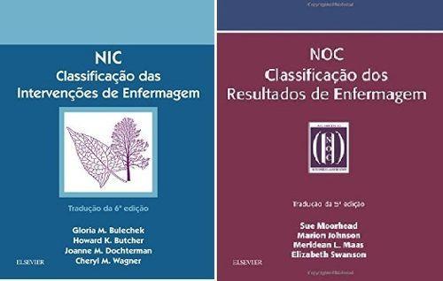 Combo Nic E Noc De Enfermagem  - LIVRARIA ODONTOMEDI