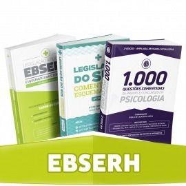 Combo Psicologia - Preparatório Para Concursos Ebserh Sanar    - LIVRARIA ODONTOMEDI
