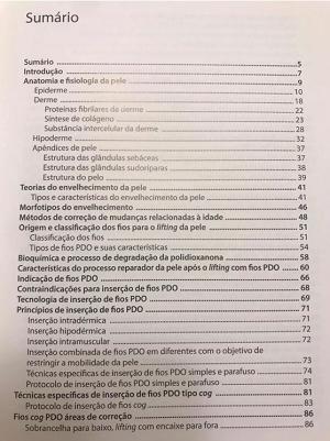 Livro Fios PDO - Nova Abordagem ao Rejuvenescimento da Pele  - LIVRARIA ODONTOMEDI