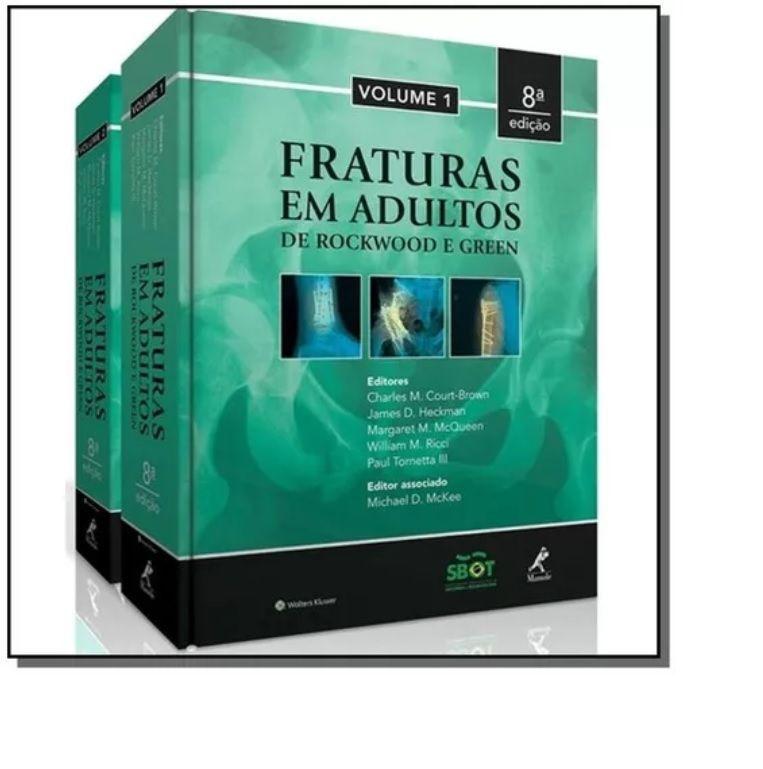 Livro Fraturas Em Adultos De Rockwood & Green - 2 Volume  - LIVRARIA ODONTOMEDI