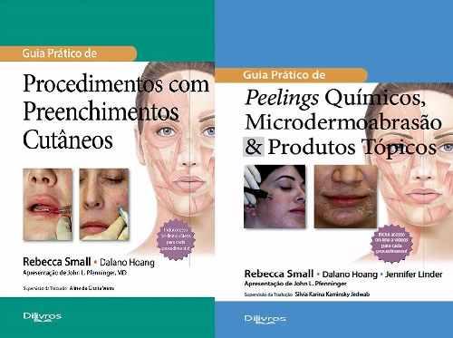 Guia Prat. De Preenchimento Cutâneo + Guia Prát. De Peelings Químicos  - LIVRARIA ODONTOMEDI