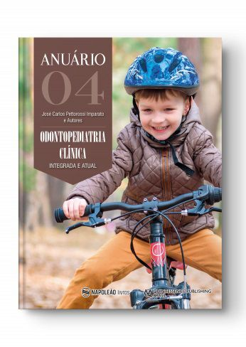 Livro 4ª Anuário de Odontopediatria Clinica Integrada e Atual  - LIVRARIA ODONTOMEDI