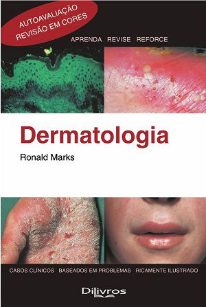 Livro Dermatologia  - LIVRARIA ODONTOMEDI
