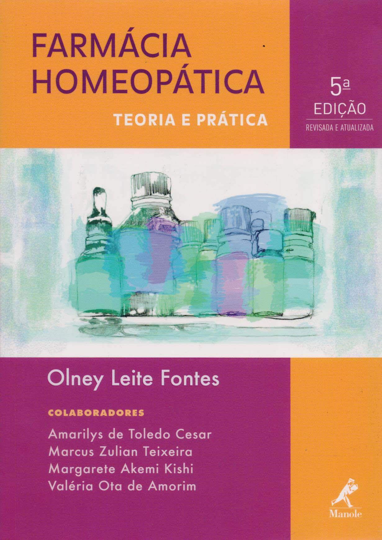 Livro Farmácia Homeopática  - LIVRARIA ODONTOMEDI