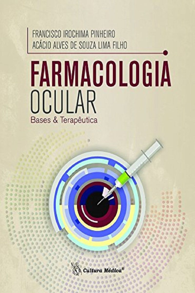 Livro Farmacologia Ocular: Bases e Terapêutica  - LIVRARIA ODONTOMEDI