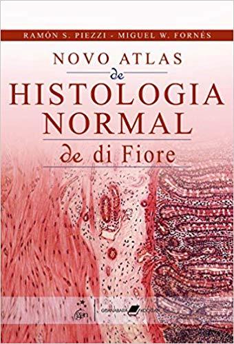 Livro Novo Atlas de Histologia Normal de Di Fiore  - LIVRARIA ODONTOMEDI