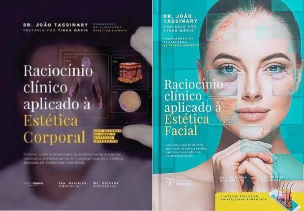 Livros Raciocínio Clínico Corporal E Raciocínio Clínico Facial  - LIVRARIA ODONTOMEDI