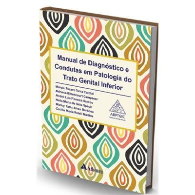 Livro Manual De Diagn Condutas Em Patologia Do Trato Genital Inf  - LIVRARIA ODONTOMEDI