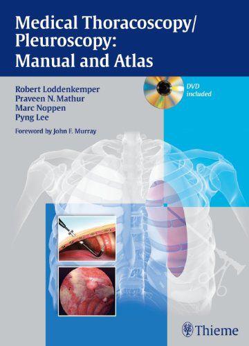 Livro Medical Thoracoscopy / Pleuroscopy: Manual and Atlas  - LIVRARIA ODONTOMEDI