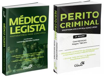 Médico Legista Preparatório Para Concurso + Perito Criminal Preparatório Para Concursos 2ª Edição  - LIVRARIA ODONTOMEDI