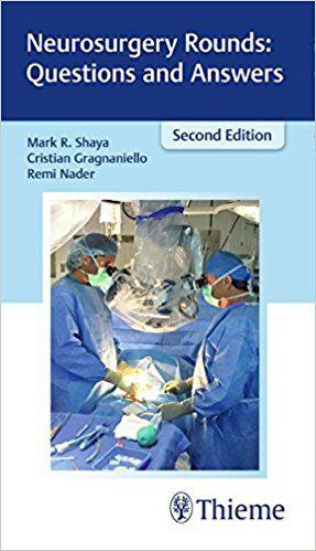 Livro Neurosurgery Rounds: Questions and Answers  - LIVRARIA ODONTOMEDI