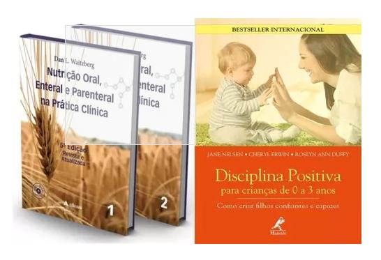 Nutrição Oral 5ª Edição E Disciplina Positiva Para Crianças  - LIVRARIA ODONTOMEDI