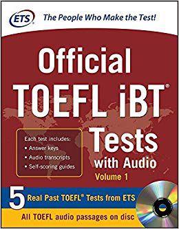 Livro Official Toefl Ibt Tests With Audio  - LIVRARIA ODONTOMEDI