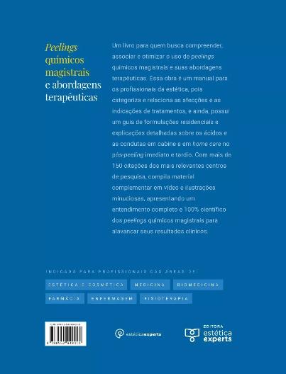 Livro Peelings Químicos Magistrais E Abordagens Terapêuticas  - LIVRARIA ODONTOMEDI
