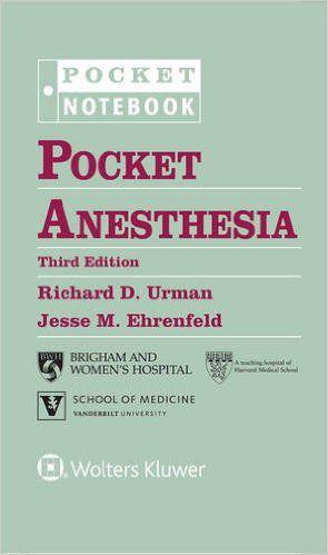 Livro Pocket Anesthesia  - LIVRARIA ODONTOMEDI