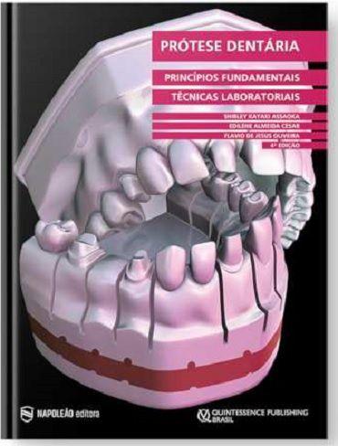Livro Prótese Dentária Princípios Fundamentais E Técnicas Laboratorial  - LIVRARIA ODONTOMEDI