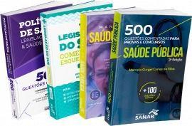 Residência: Combo Preparatório Para Provas De Saúde Pública  - LIVRARIA ODONTOMEDI