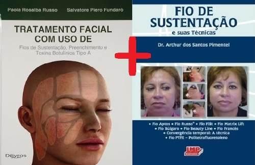 Russo - Tratamento Facial + Pimentel - Fio De Sustentação  - LIVRARIA ODONTOMEDI