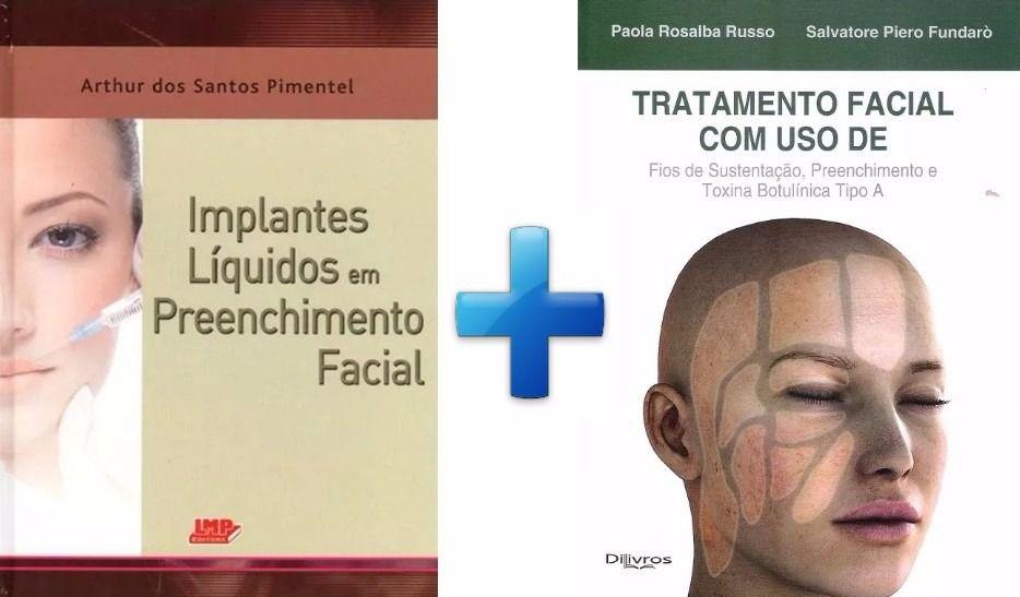 Russo - Tratamento Facial + Pimentel - Implantes Líquidos  - LIVRARIA ODONTOMEDI