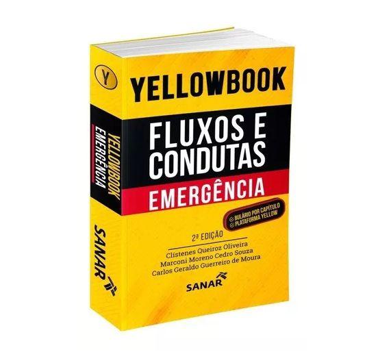 Livro Yellowbook Fluxos e Condutas Emergência 2ª Edição 2019  - LIVRARIA ODONTOMEDI
