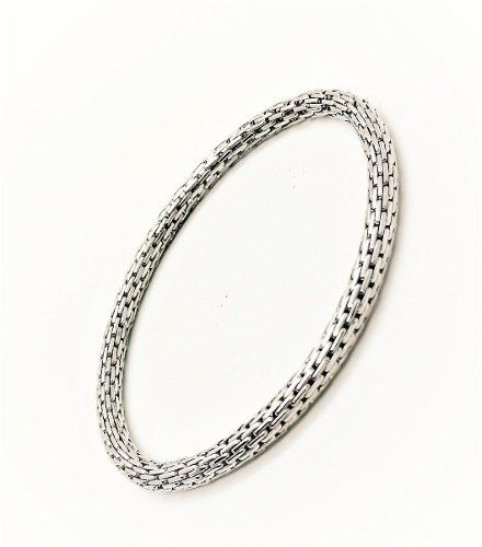 Bracelete Cordão Malha Expansível Banhado 3123