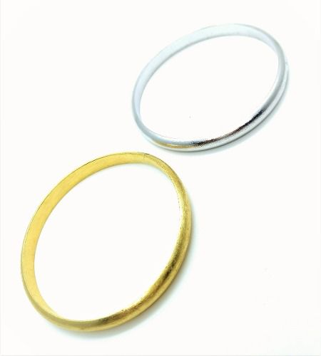 Bracelete Meia-cana Escovado 7mm 3029