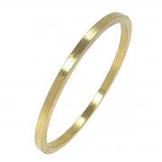 Bracelete Escovado Banho De Ouro 18k 15 Milésimos 1808