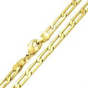 Corrente Masculina 70cm Banho Ouro 18k 3518