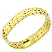 Pulseira Diamantada Banho De Ouro 18k 1217