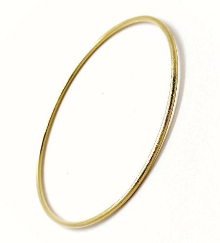 Bracelete Escovado Banho Ouro 1811