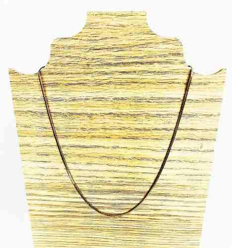 Gargantilha Fita 40cm Banho Ouro 18k 1241