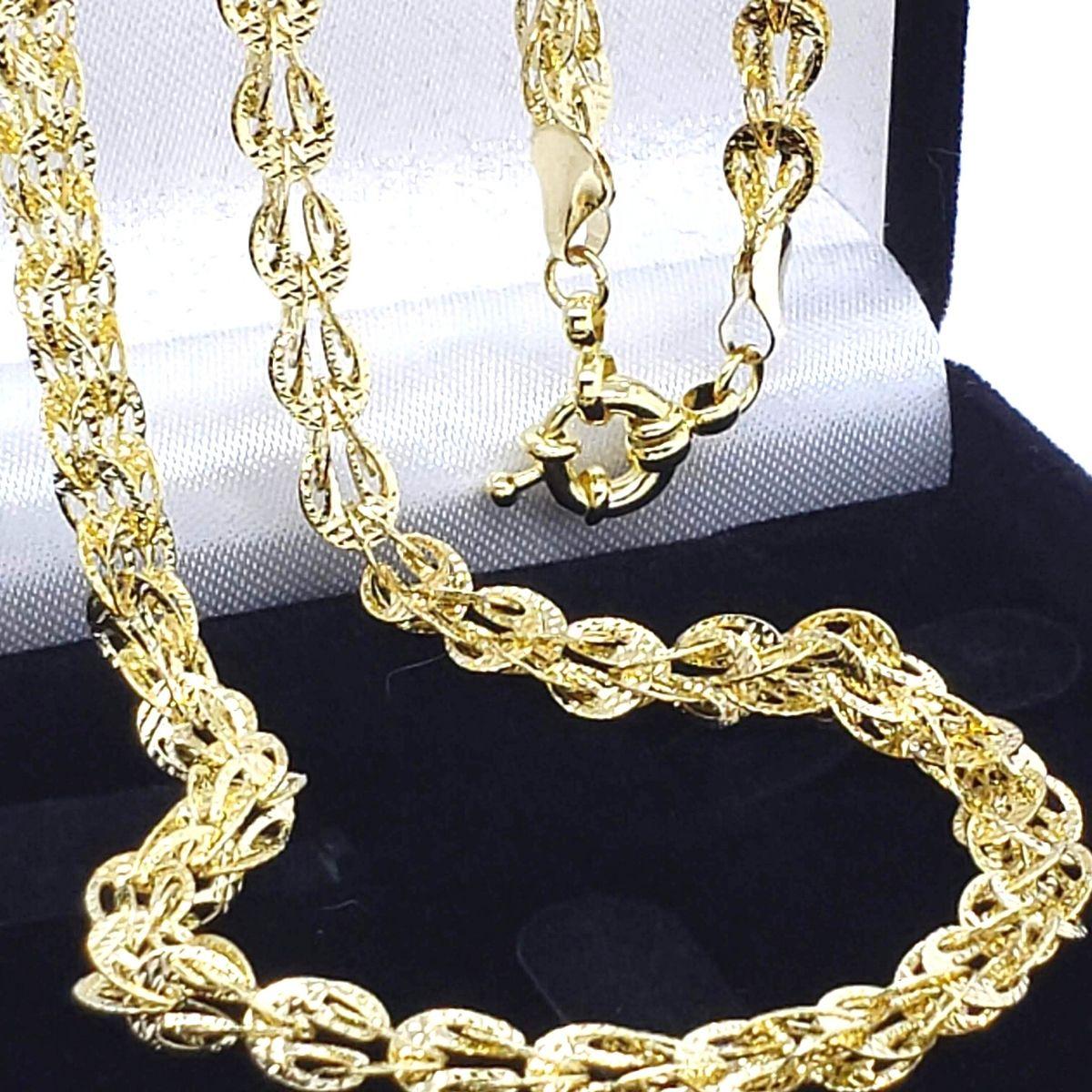 Colar Athina 47cm Banho De Ouro 18k 2251