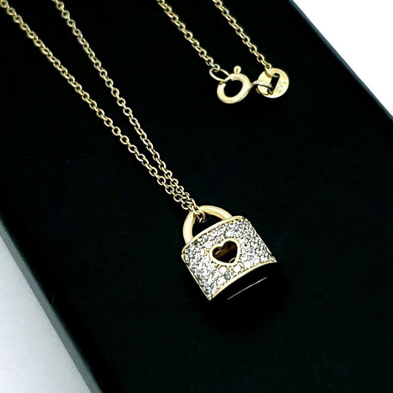 Cordão Com Pingente Cadeado Cravejado De Zirconias Em Prata No Banho De Ouro 18k 1673