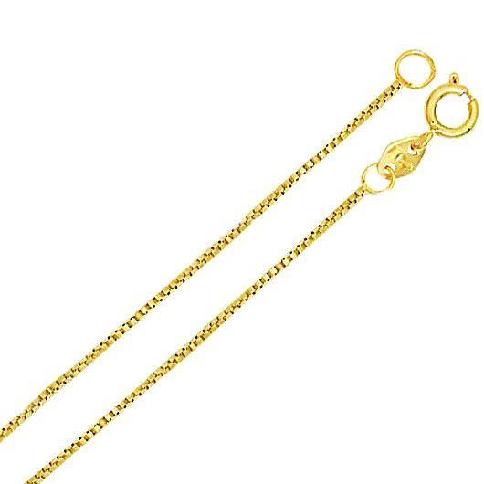Corrente Cordão Veneziana 0.9 70cm Banho Ouro Ou Ródio 4641