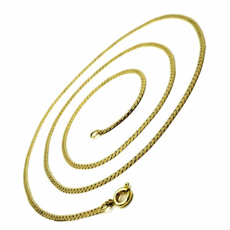 Corrente Fita Diamantada 1,5mm 60cm Banhada A Ouro 18k 1237