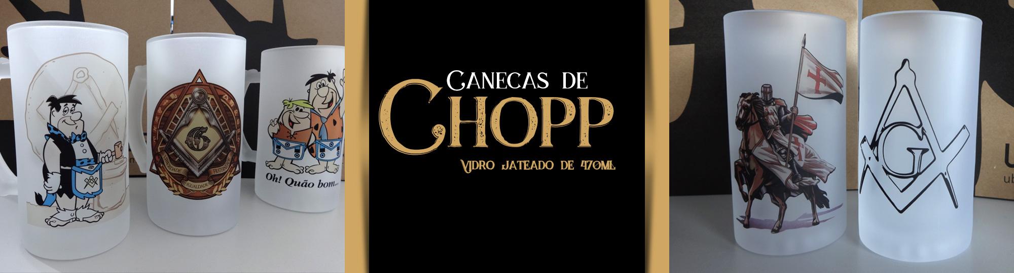 Canecas Chopp
