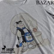 Bazar - Camiseta Fred Flintstone  Azul