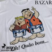 Bazar - Camiseta Oh Quão Bom Azul