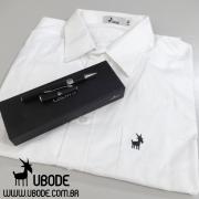 Kit - Camisa manga longa UBODE + Caneta Roller Black Silver