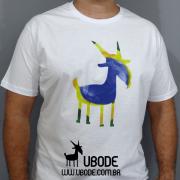 Camiseta Aquarela Brasil