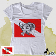 Camiseta Bode Triangulo Feminina