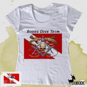 Camiseta Bodes Dive Team Caveira - Feminina