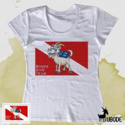Camiseta Bodes Team Dive Feminina