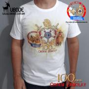 Camiseta Comemorativa Demolay 100 anos