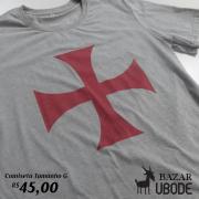 Camiseta Cruz cor Cinza - Bazar UBODE